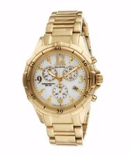 Citizen Eco-Drive Women's FB1352-52A Chronograph Gold Tone 40mm Watch