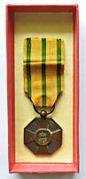 MERIT MEDAL OF THE OAK CROWN LUXEMBOURG WITH ORIGINAL BOX AND CERTIFICATE