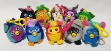 Vintage Furby McDonald's Soft Plush Keychain Toys (Lot Of 10)