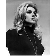 Sharon Tate Close Up Head Shot Black and White 8 x 10 Inch Photo