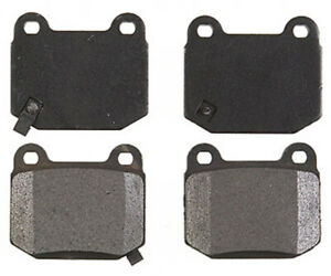 Disc Brake Pad Set-Element3; Metallic Rear Raybestos PGD961M