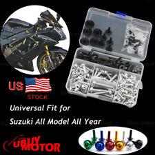 M5 M6 Complete Fairing Bolt Kit Body Screws Suzuki GSX-R 1000 2016-2017 Silver