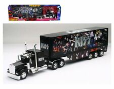 NEWRAY 1:32 KENWORTH W900 - KISS Semi Trailer Truck Diecast Car 12453