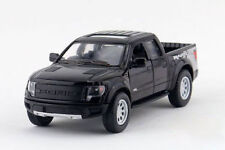 "5"" Kinsmart 2013 Ford F-150 SVT Raptor SuperCrew 1:46 Diecast Model Truck- Black"