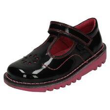 Scarpe nere Kickers per bambine dai 2 ai 16 anni