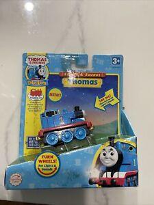 Thomas & Friends Train Lights & Sounds Die-Cast Metal Thomas #1, 2008,