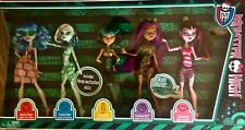 Monster High dolls Skull Shores 5 pack New in Box Target Exclusive *Retired*