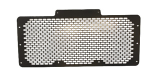 Land Rover Defender 90/110/130 Stainless Steel Grill -Powdercoated Black BA 3906