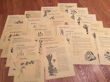Book of Shadows - 2 dozen herbs for Witchcraft
