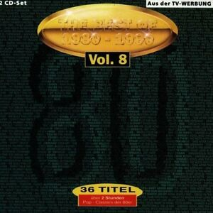 Best of 1980-1990 08:Level 42, Roxette, Nick Kamen, Foreigner, Simply R.. [2 CD]