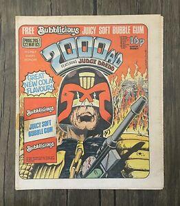 Bagged 2000 AD Comic Prog 265 - 22nd May 1982 - Ref 2K43