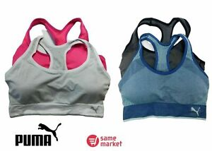 NEW WITHOUT PACK!!! Puma Women's Active Support Performance Sports Bra 2-Pack
