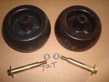 replaces Craftsman AYP Husqvarna Poulan 2  Deck Wheels with Bolts 174893 133957