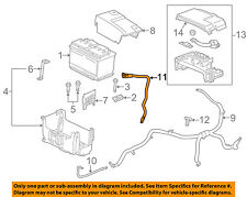 Chevrolet GM OEM 13-15 Malibu 2.0L-L4 Battery-Negative Cable 22900973