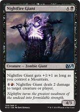 Nightfire Giant   x4 EX/NM  M15  2015 Core Set MTG Magic Black Uncommon