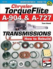 Chrysler TorqueFlite A-904 & A-727 Transmissions How To Rebuild - Book SA394