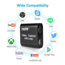 1080P HDMI Video Digtal Capture Card Recorder For Game/Video Live Streaming