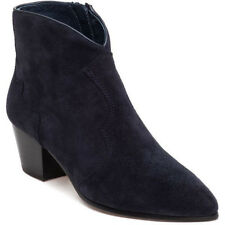 Ash Hurricane Suede Ankle Boots Blue
