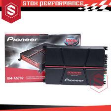 Pioneer GM-A5702 2-Channel Class-AB Bridgeable Amplifier 1000W Car Amplifier