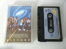 JACKSONS VICTORY CASSETTE TAPE EPIC 1984 PAPER LABEL EPIC CBS UK