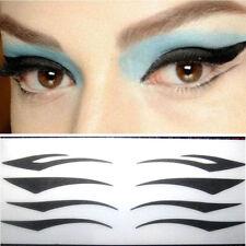 40 Pairs 4 Styles Instant Temporary Tattoo Eye Black Transfer Eyeliner Stickers