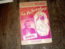 musique musique air de l'opérette Le Maharadjah par Bourvil 1947 Bruno Coquatrix