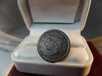 1838 MATRON HEAD MODIFIED Large Cent   Nice # C 1482