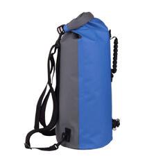 35L Military Waterproof Dry Bag Backpack Floating Canoe Kayak Fishing Blue