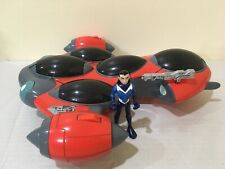 TEEN TITANS T-SUB w/ Aqualad Bandai 2004 Electronic Talking WORKS! 99% Complete