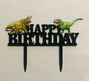 Dinosaur Birthday Cake Topper FREE SHIPPING!