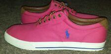 Polo Ralph Lauren Vaughn Canvas Sneakers Men's Sz16 New