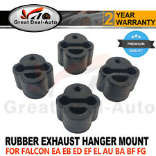 4x EXHAUST RUBBER HANGER MOUNT FOR FORD FALCON ED EF EL AU BA BF FG UTE MOUNTING