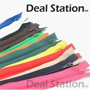 Nylon Zip Closed End Zips Zipper High Quality 4 5 6 7 8 9 10 12 14 16 18 inch