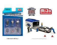 American Diorama 1:64 Mijo Exclusives Figures Auto Transport Crew Set AD-76464