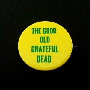 Grateful Dead Pin Vintage 1967 The Good Old GD Pinback Badge Button '67 Original