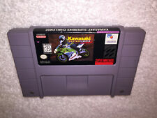 Kawasaki Superbike Challenge (Super Nintendo, 1991) SNES Authentic Cartridge Exc