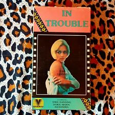 In Trouble VHS Sybil Danning 1971 Grindhouse WIP Sexploitation Abortion theme