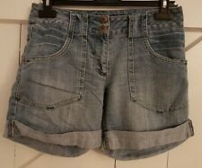 Size 6 Shorts DOROTHY PERKINS Blue Stonewashed Great Condition Women's Ladies