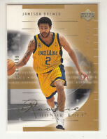 JAMISON BREWER 2001-02 Upper Deck Honor Roll #116 Pacers Rookie RC 1814/2499