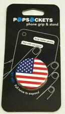 PopSockets Collapsible Grip & Stand for Phones and Tablets - American Flag