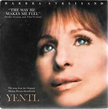 "45 TOURS / 7"" SINGLE--BARBRA STREISAND--THE WAYHE MAKES ME FEEL--1983"