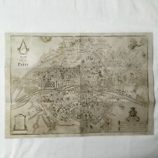 """Assassin's Creed Unity Map of Paris Collector Edition """"NEW"""""""