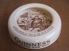 Guinness Is Good For You' Ceramic Ashtray. Phiz Cartoon Cauldon Potteries