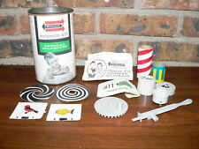 Vintage 1961 Remco Science Kit Style 411 Optical Illusions w/Can & Instructions