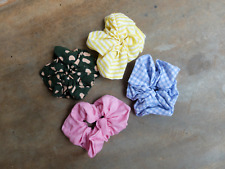 WECare hair scrunchie (matching hair ribbons & face masks available)