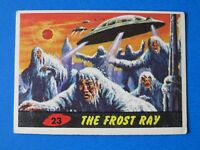 1962 TOPPS MARS ATTACKS CARD #23 ~ THE FROST DAY ~ EX/MT