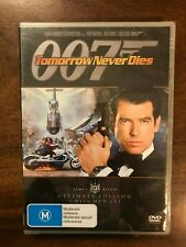 007 Tomorrow Never Dies DVD 2 Disc Ultimate Edition  Region 4 New & Sealed