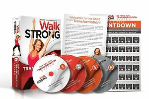 Walk Strong: 6 Week Total Transformation System - 4 Discs + Wall Calendar