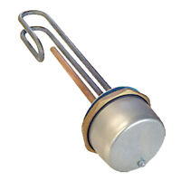 """11"""" Universal Immersion Heater Hot Water Boiler Thermostat ELEMENT 3000W Incoloy"""
