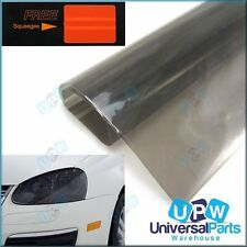 Smoked Tint Self Adhesive Film for use on Headlamps Tail lamps & brake lights